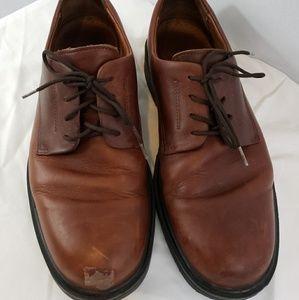 Clark's mens brown leather Waterproof shoes sz 9.5